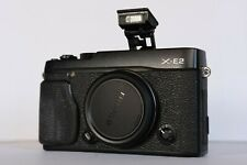 Fujifilm Fuji X-E2 Digital Camera - Black (Body Only) **EXCELLENT** Condition