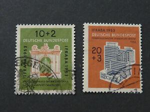 BRD,Deutschland, Mi.-Nr.: 171-172, gestempelt, KW: 55,00