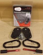 GENUINE AEROCATCH BONNET PINS - PLUS FLUSH - LOCKING - BLACK - T120-2100
