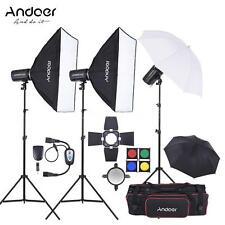 Andoer MD-300 900W Studio Strobe Flash Light Kit for Video Photography TZ P9D1