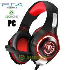 Pro Gaming Headset With Mic XBOX One Wireless PS4 Headphones Microphone Beats A+