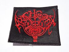 ARCHGOAT EMBROIDERED LOGO BLACK METAL PATCH