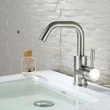 Modern Centerest Stainless Steel Brushed Nickel Bathroom Basin Sink Faucet Mixer