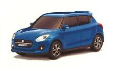 1x NEW Genuine Suzuki 2017> SWIFT Pull Back Car Toy Model 1:43 BLUE 99000-79N12