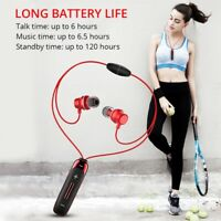 Wireless Bluetooth Earbuds Sport Gym Headphones Magnetic Earphones with MIC Bass