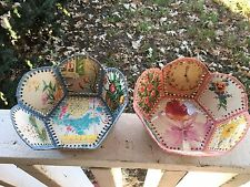 Vintage GET WELL GREETING CARDS Handcrafted Baskets.. woven lovelies