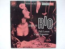 FAFA LEMOS - JANTAR NO RIO LP 1st MONO 1955 BRAZIL VIOLIN JAZZ SAMBA BOSSA RARE