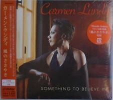 CARMEN LUNDY - CD - Something to Believe In - BRAND NEW