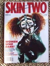 """Skin Two No 21"".  Fetish Fashion, Fun & Games. Latex, Leather etc. Mint copy."