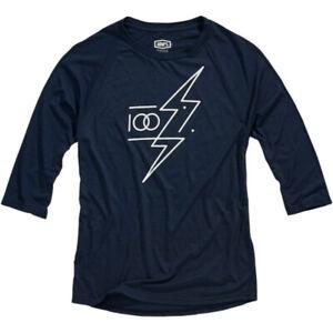 100% Tech Helgi T-Shirt (Navy Blue) S