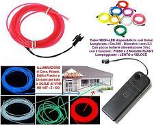 KATO TUBE NEON LED 3V RED mm.2,3 FLEXIBLE + CONTROLLER BUILDINGS CASE DIORAMAS