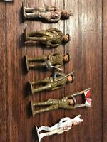 Vintage Metal Ww1 Toy Soldiers, Made In USA