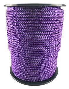 Purple Bondage Rope, Soft To Touch Rope - Select Your Diameter and Lot Length