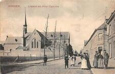 Iseghem Belgium Church Gent Ww1 Military Feldpost Postcard 1915