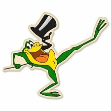"Michigan J. Frog singing frog Vynil Car Sticker Decal 12"""