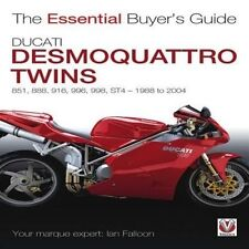 Ducati Desmoquattro Twins EBG 748 851 888 916 996 998 Ian Falloon author signed