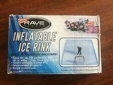 Rave Sports Inflatable Ice Rink 13x10x4 rectangle winter sports ice skating rink