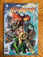 Aquaman 13 NEWSSTAND VARIANT EDITION New 52 DC COMICS NM