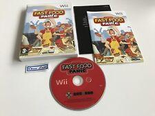 Fast Food Panic - Nintendo Wii - PAL FR - Avec Notice