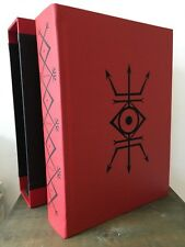 DRAGON BOOK OF ESSEX w/ case Andrew Chumbley Occult Witchcraft Azoetia Grimoire
