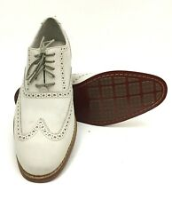 Cole Haan Air Colton Ivory Nubuck Oxford Wingtip Mens Dress Shoes 10 M C09264