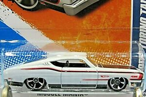 HOT WHEELS VHTF 2011 MUSCLE MANIA SERIES 69 FORD TORINO TALLADEGA