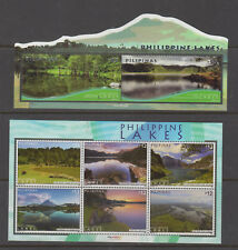 Philippine Stamps 2018 Philippine Lakes Complete set MNH