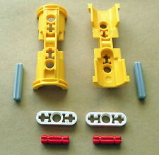 Lego Technic Pneumatik Konsole 53178 Gelb Hydraulik Kran Schale Halterung 8421