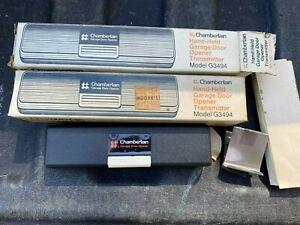 VINTAGE NOS CHAMBERLAIN GARAGE DOOR OPENERS  MODEL G3494