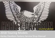 2018 Harley Touring Service/Repair Manual On USB with Electrical Diagnostic
