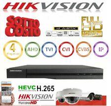HIKVISION HWD-6116MH-G2 DVR 5IN1 AHD CVI TVI CVBS IP 16 CANALI UTC 4 MP TURBO HD