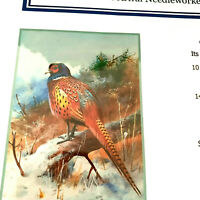 Orenco Originals Cross Stitch Pattern/Chart Pheasants In Winter Archibald Thorbu