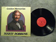 33 RPM LP Record Marty Robbins Golden Memories 1985 Heartland Music P18826 EXC