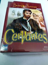 "DVD ""CERVANTES"" 4DVD COMO NUEVO SERIE COMPLETA ALFONSO UNGRIA EUGENIO MARTIN"