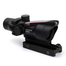 Brand Terminus Optics Scope Red Dot Sights Drop Compensator ACOG Style