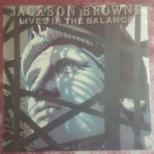"""Lives in the Balance"" Jackson Browne New Vinyl  Asylum"