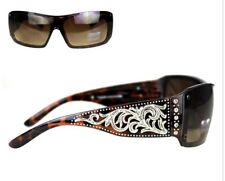 NWT Westren  Montana West Scroll Collection Sunglasses Leopard