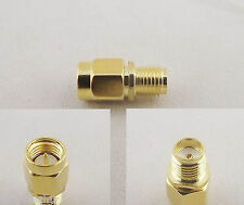 1pc SMA Male Plug to SMA Female Jack In Serie Straight RF Adapter Connector