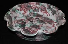 "Shelton's Pottery, Seagrove NC, 2000, Large Scalloped Bowl, 11"""