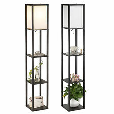 Set of 2 Modern Floor Lamp for Living Room with Storage...