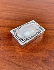 WOODSIDE STERLING SILVER STAMP OR PILL BOX: NO MONOGRAM