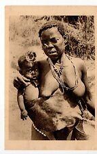 AFRIQUE FRANCAISE ethnique nus African beauty CONGO FRANCAIS femme et enfant