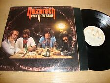 Nazareth - Play N The Game - LP Record  G+ G+