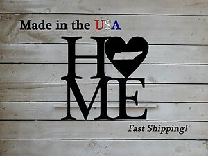 Home with Heart State, Home Is Where the Heart Is, Home Decor, Front Door, S1165