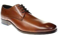 Herren-Schnürschuhe ohne Muster in Größe 42