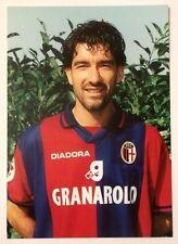 Cartolina Bologna Calcio 1997-98 Daniele Carnasciali