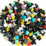 500X Mixed Plastic Auto Car Fastener Clip Bumper Fender Trim Rivet Door JVH