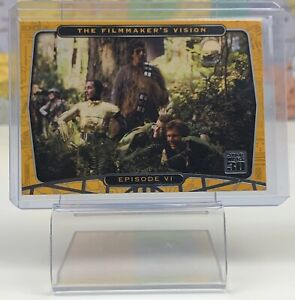 SHIPS SAME DAY 2007 Topps Star Wars 30th Anniversary #78 Episode VI Card Foil