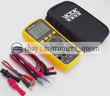 Victor VC9805A+ Digital Multimeter 3 1/2  with carrying bag !!NEW!!!