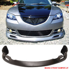 Fits 04-06 Mazda 3 S Type Front Bumper Lip Urethane